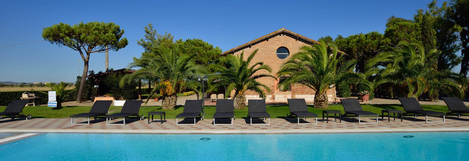 case vacanze con piscina in Toscana