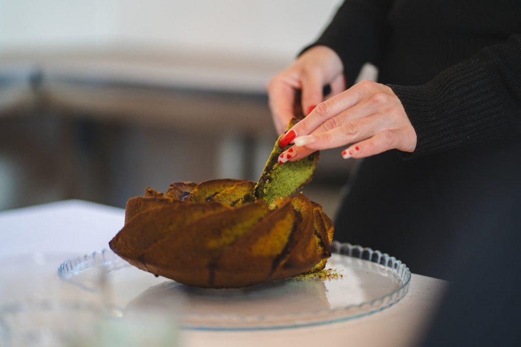 ricetta torta alla spirulina