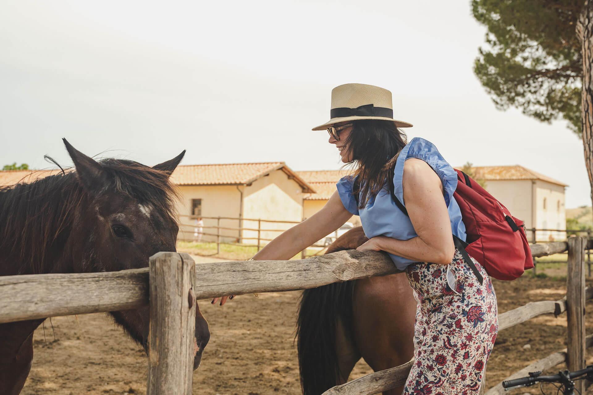 passeggiate cavallo maremma toscana